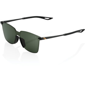 100% Legere UltraCarbon Square Gafas, matte black/smoke